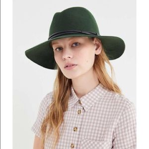 Urban Outfitters Accessories - Black UO Felt Panama Hat